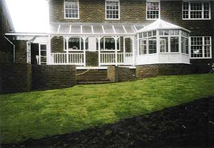 made to measure summerhouse with underfloor storeage
